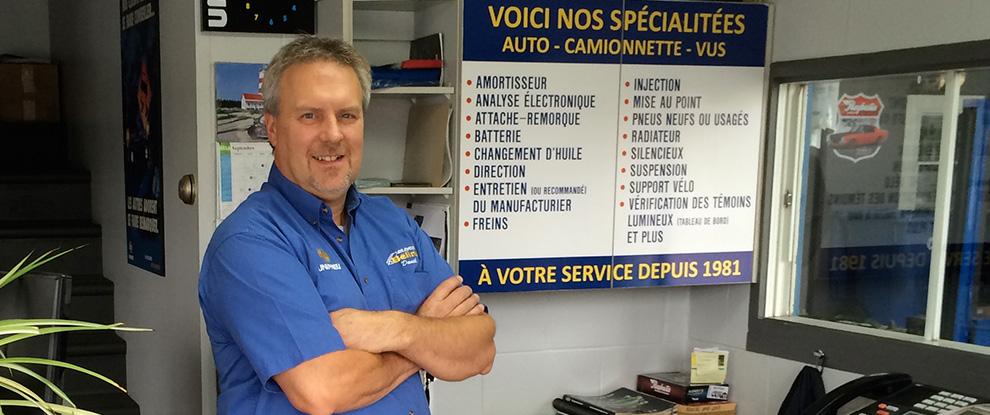 Pneus et m canique st eustache garage point s for Reparation electromenager st eustache